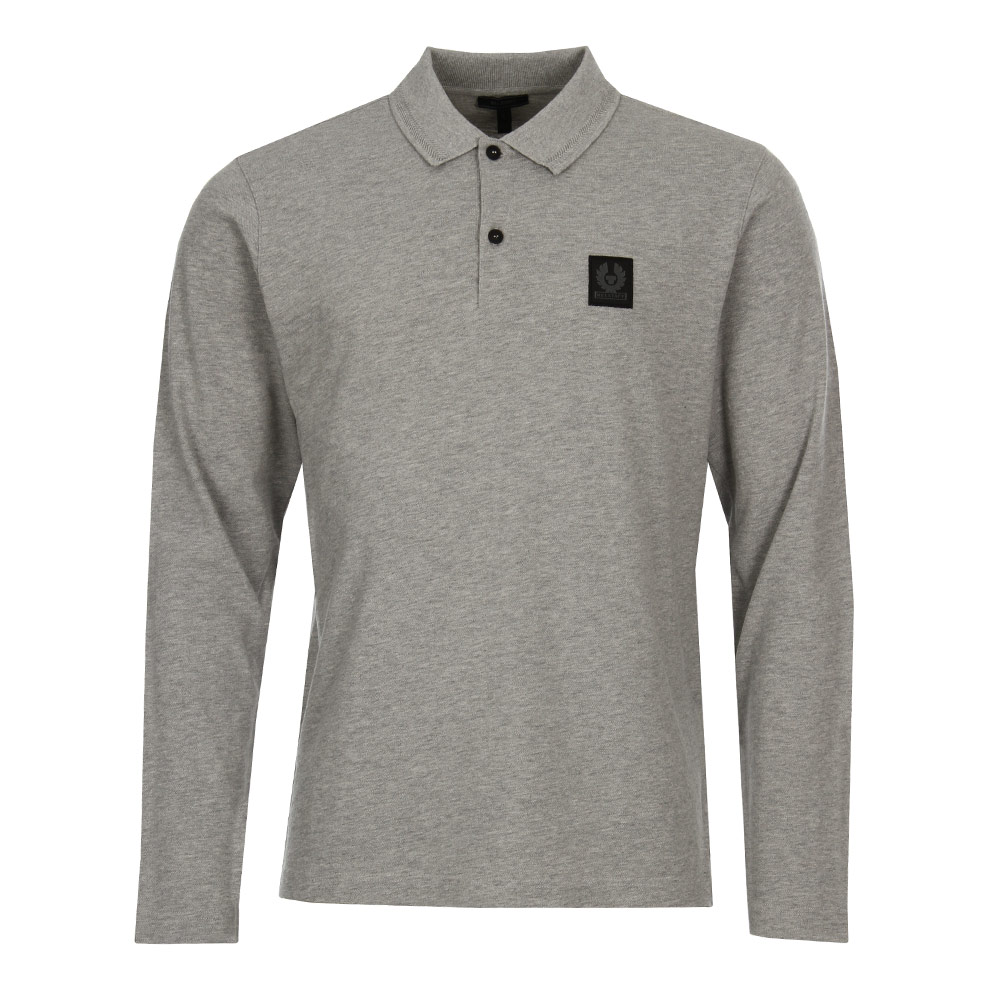 Photo: Selbourne Polo Shirt - Grey Melange