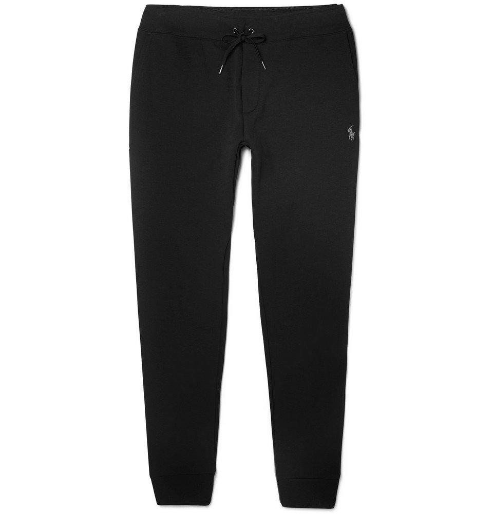 597ca40c636b Polo Ralph Lauren - Slim-Fit Tapered Jersey Sweatpants - Men - Black ...