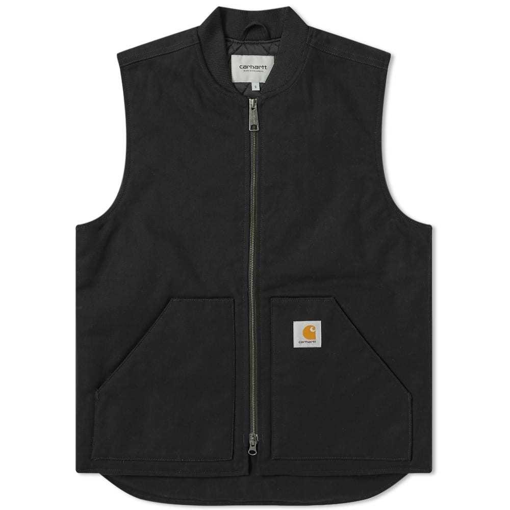 Photo: Carhartt Canvas Work Vest Black