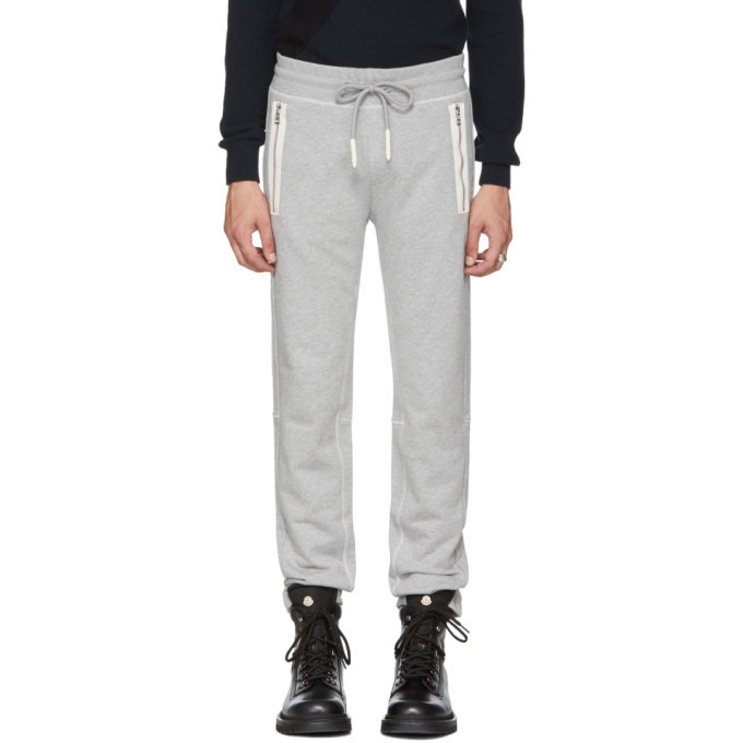 Moncler Grey PCKT Sweatpants