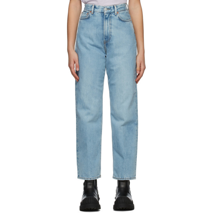 Photo: Acne Studios Blue Relaxed Fit Jeans
