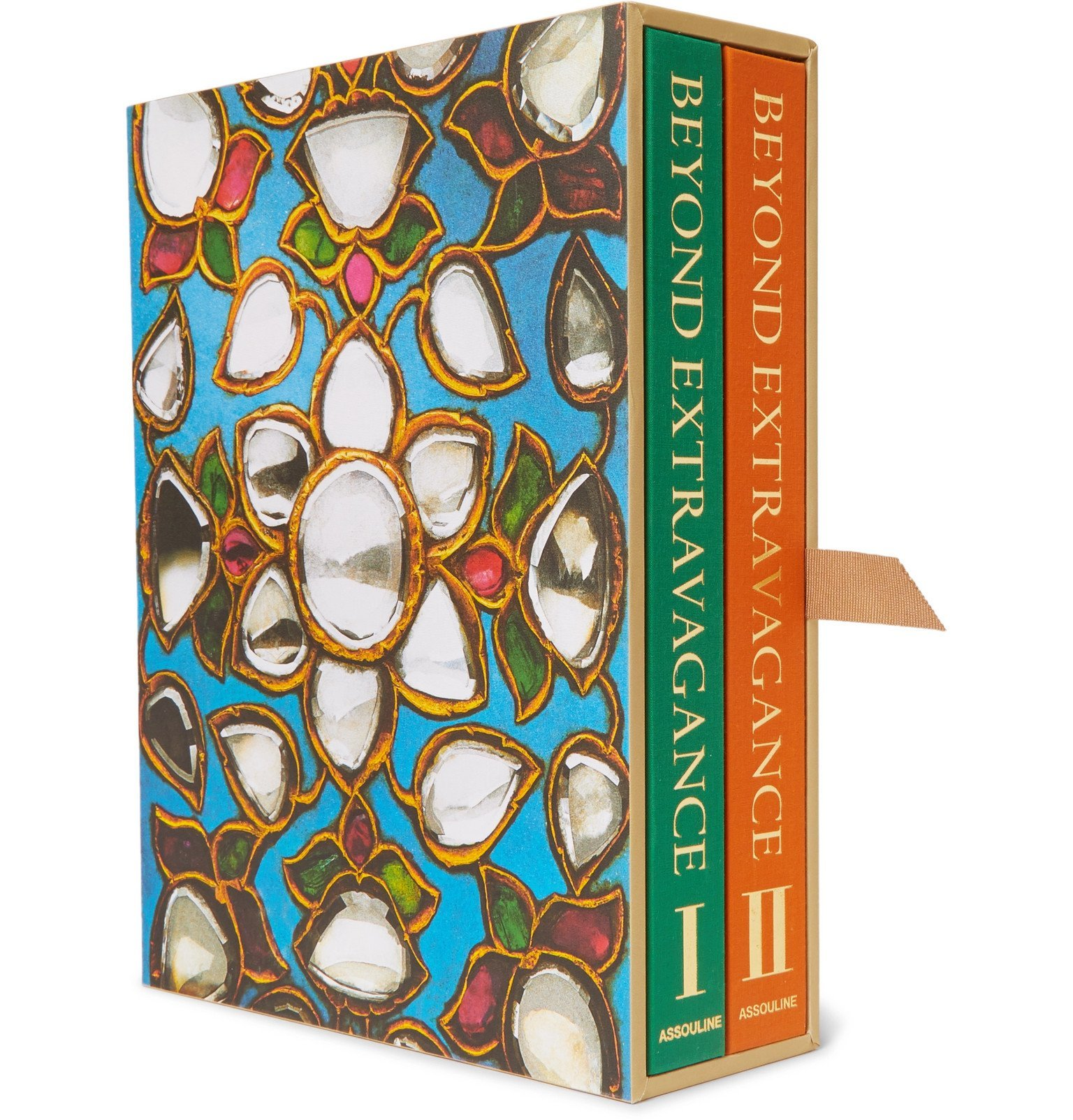 Photo: Assouline - Beyond Extravagance - 2nd Edition Set of Two Hardcover Books - Multi