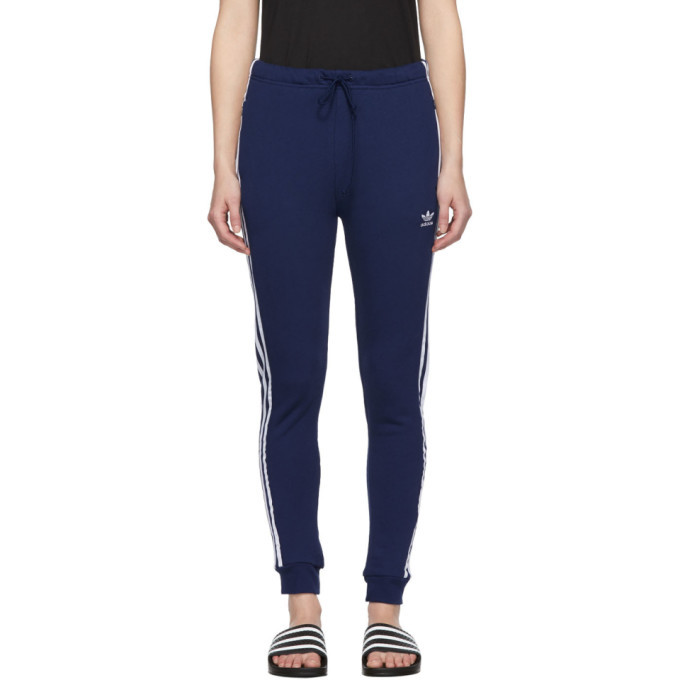 adidas Originals Blue Cuffed Track Pants