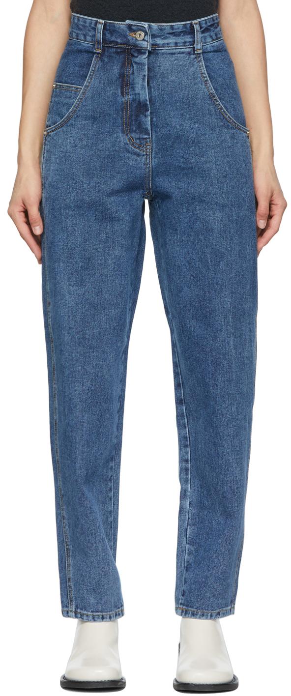 Photo: LOW CLASSIC Denim Boy Friend Fit Jeans