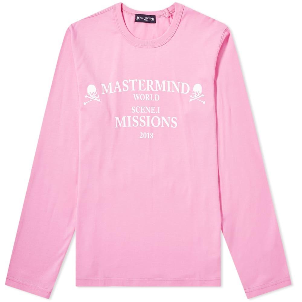 Photo: MASTERMIND WORLD Long Sleeve Missions Logo Tee