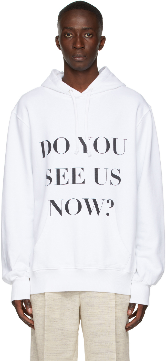 Photo: Botter White 'Do You See Us Now?' Hoodie