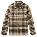 Filson - Deer Island Checked Brushed Cotton-Twill Overshirt - Green