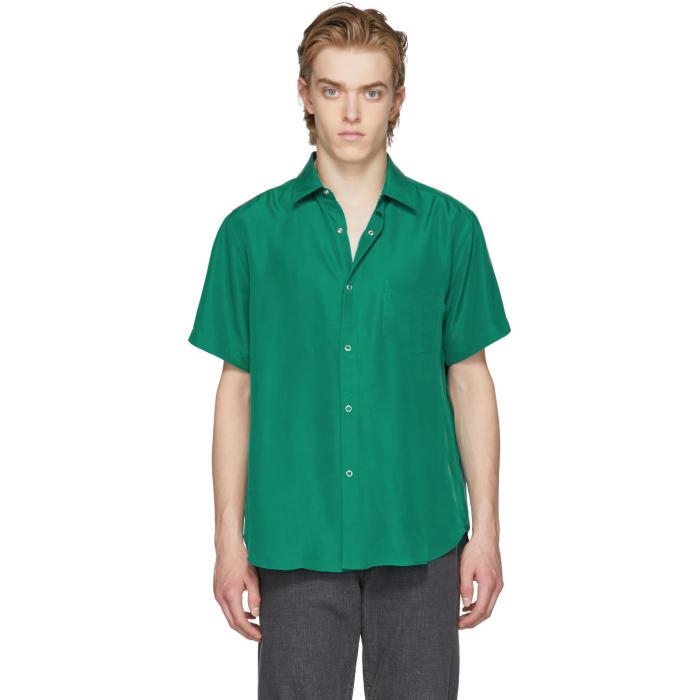 Photo: Cobra S.C. Green Short Sleeve Silk Model One Shirt