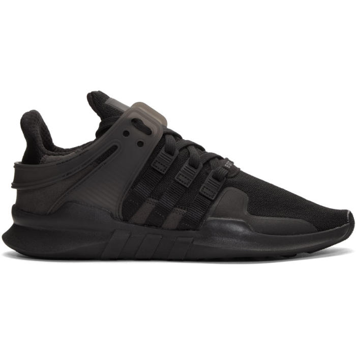 adidas Originals Black EQT Support ADV Sneakers
