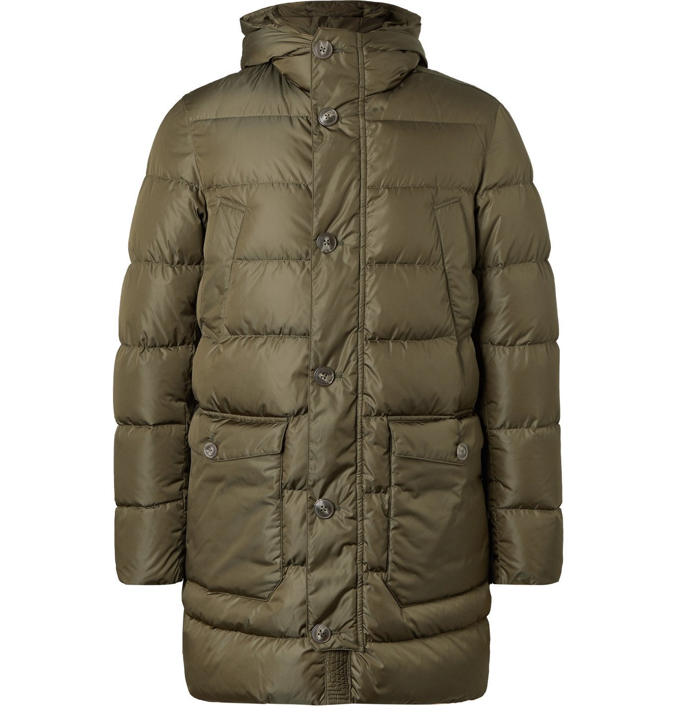 Photo: Herno - Quilted Econyl® Down Jacket - Green