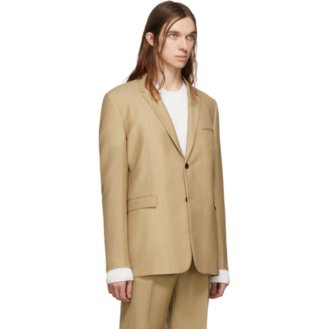 Bottega Veneta Tan Wool Blazer
