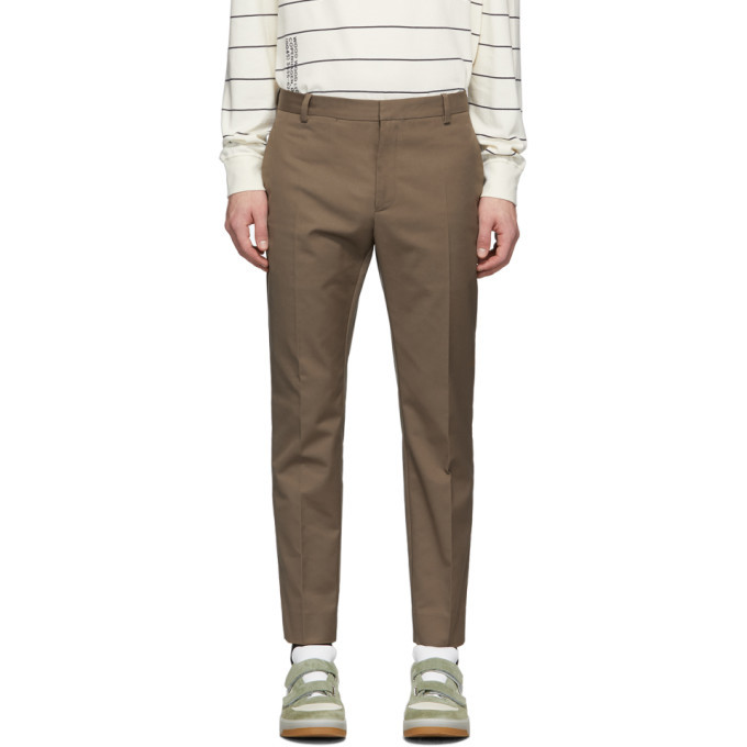 Wood Wood Taupe Tristan Trousers