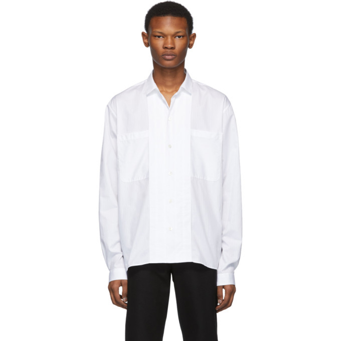 Photo: Ann Demeulemeester White Barbara Shirt