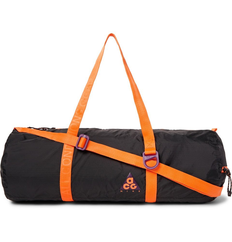 Photo  Nike - ACG Packable Ripstop Duffle Bag - Men - Black b698e6e03595c