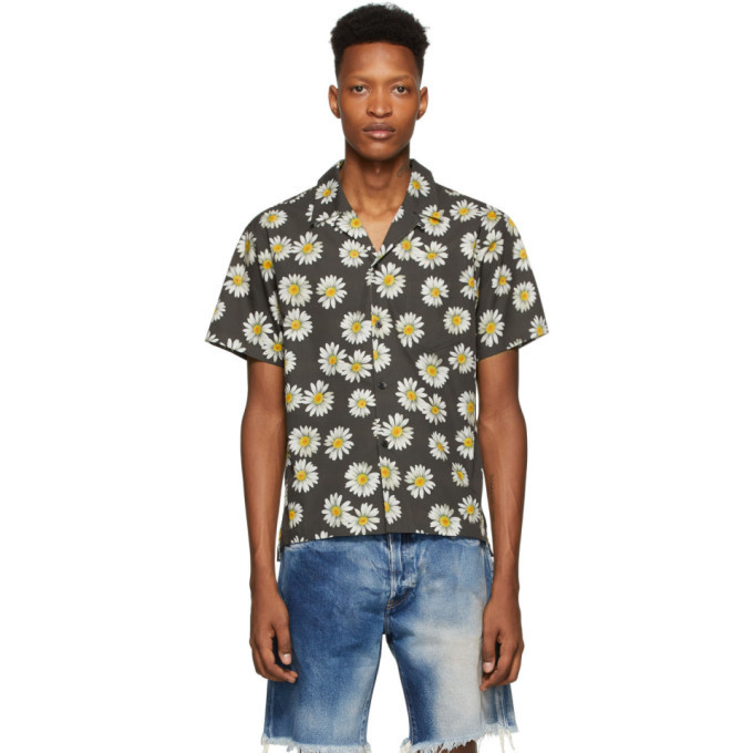 Photo: John Elliott Black Bowling Short Sleeve Shirt