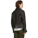 Belstaff Black Leather Fenway Jacket