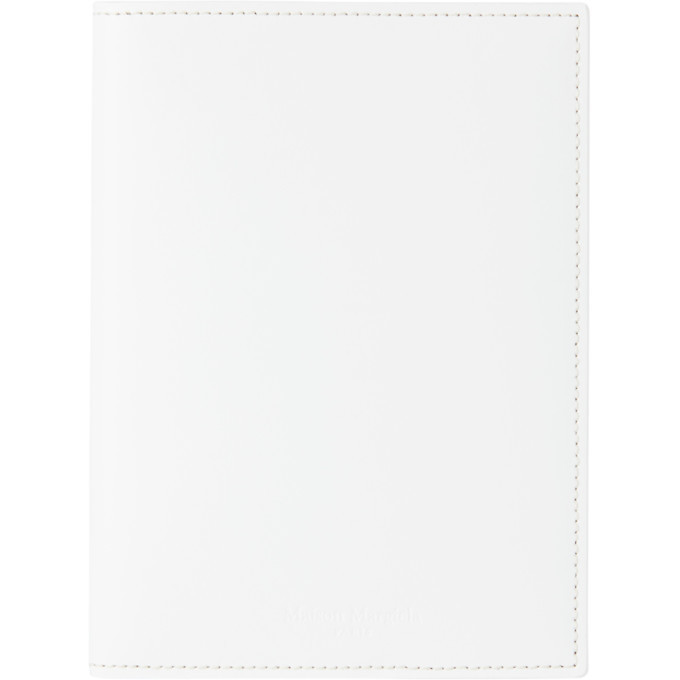 Photo: Maison Margiela White A6 Notebook Cover