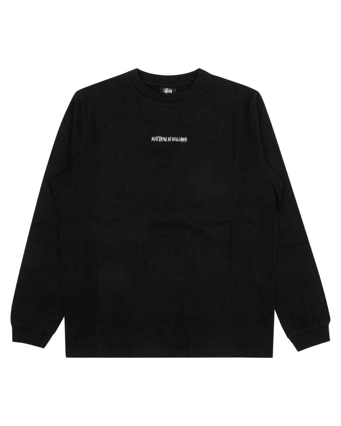 Photo: 1017 Alyx 9sm Stussy & Mmw Longsleeve T Shirt Black