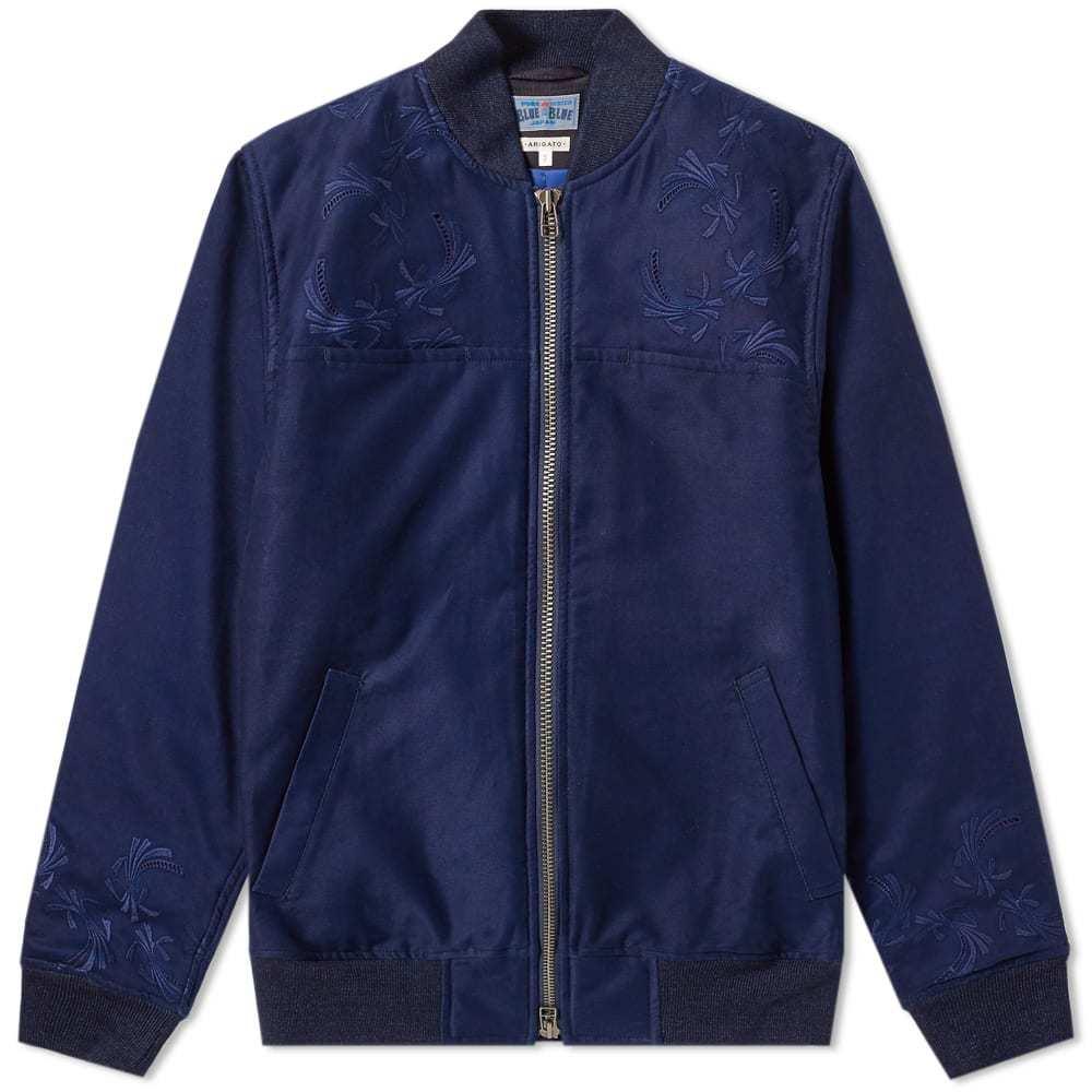 Photo: Blue Blue Japan Embriodered Primaloft Bomber Jacket