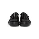Giorgio Armani Black Leather Loafers