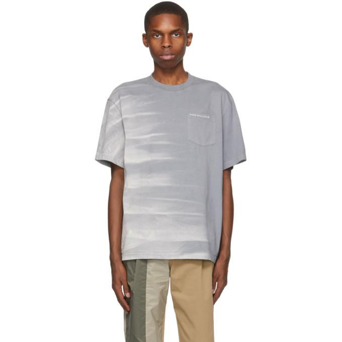 Photo: Feng Chen Wang Grey Tie-Dye T-Shirt