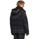 Sacai Black Down Denim Jacket