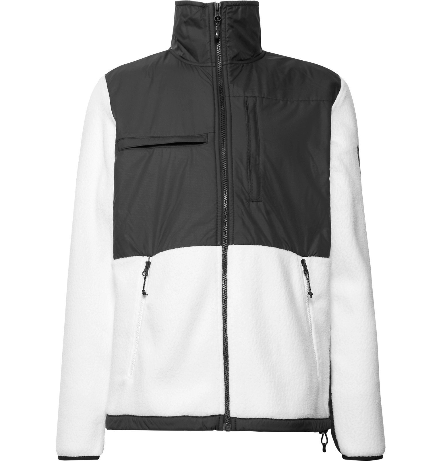 Photo: The North Face - Denali Panelled Fleece and Shell Jacket - White