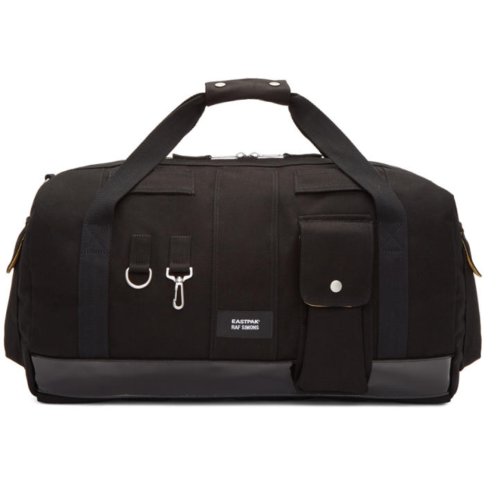 Photo: Raf Simons Black Eastpak Edition Duffle Bag