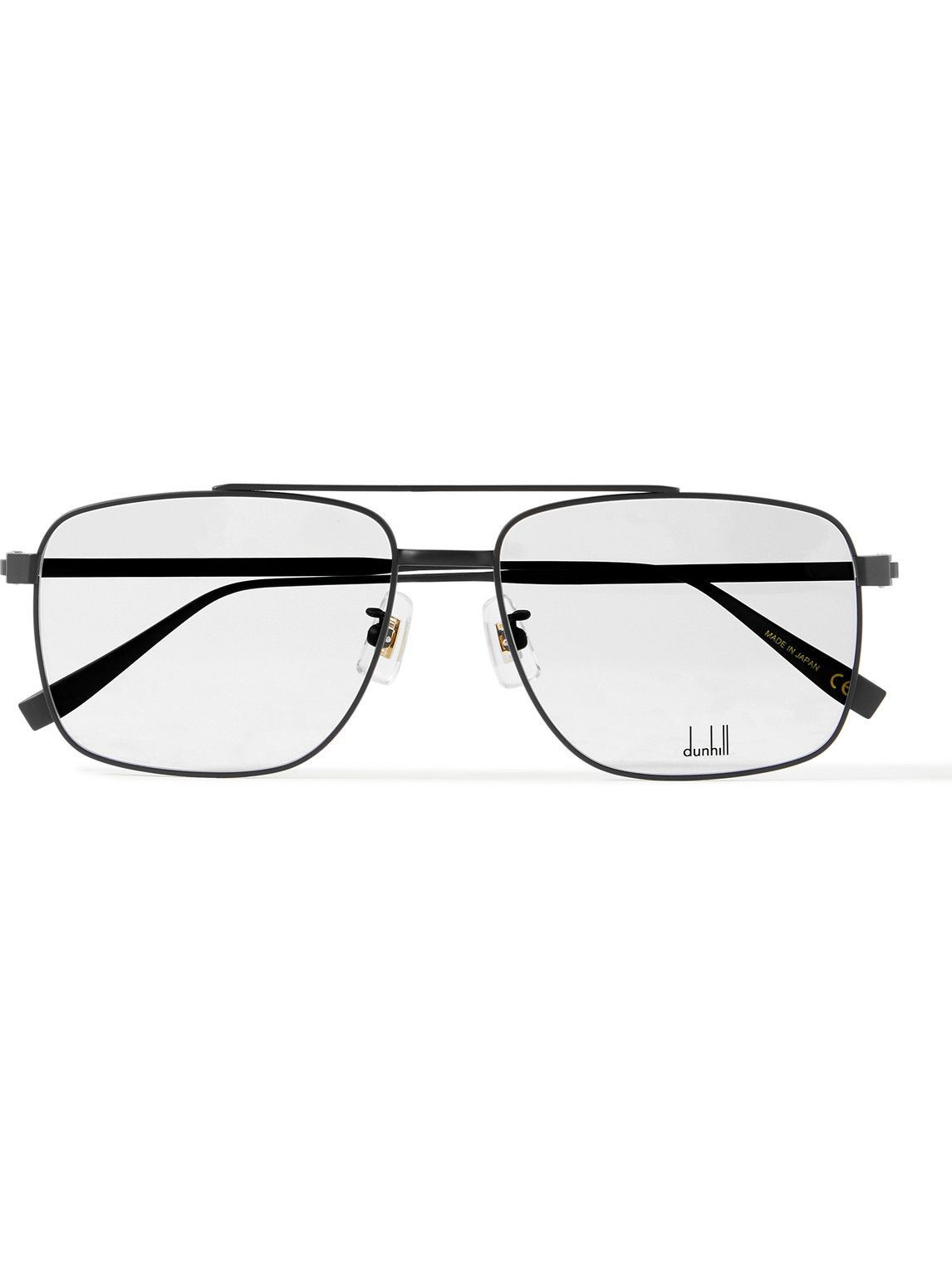 Photo: Dunhill - Aviator-Style Titanium Optical Glasses