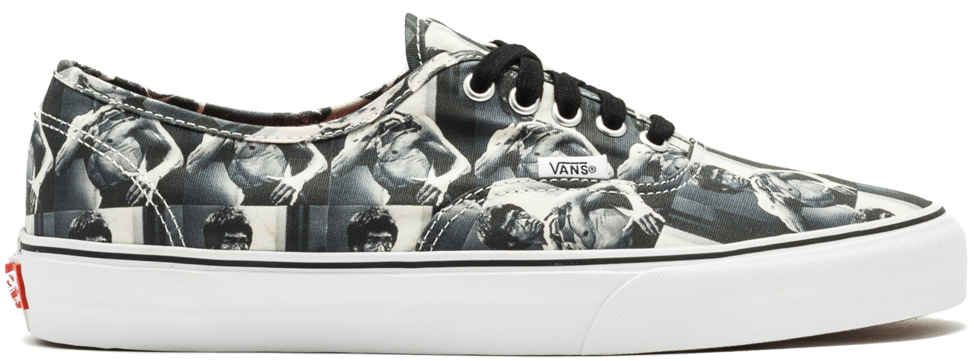 Photo: Vans Authentic Supreme Bruce Lee (White)