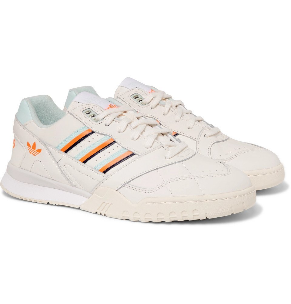 Photo: adidas Originals - A.R Leather Sneakers - White