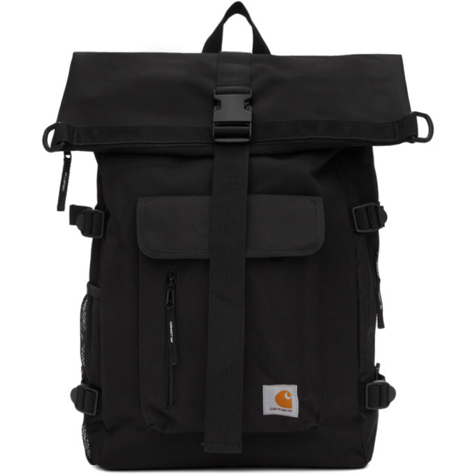 Photo: Carhartt Work In Progress Black Philis Backpack