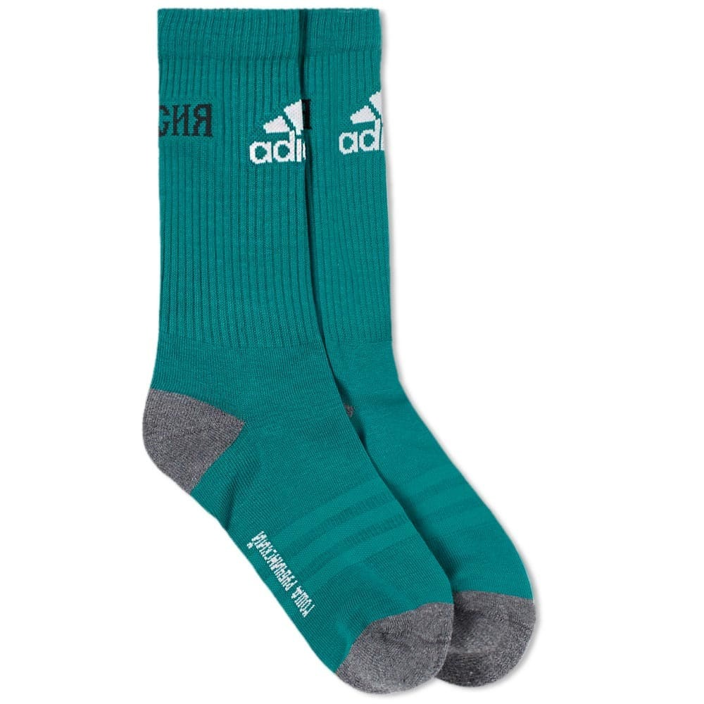 Photo: Gosha Rubchinskiy x Adidas Sock