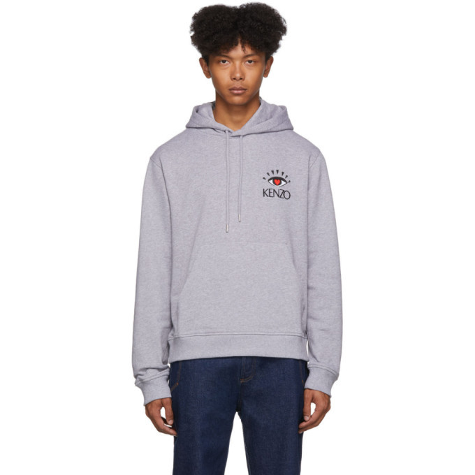 Photo: Kenzo Grey Limited Edition Cupid Hoodie