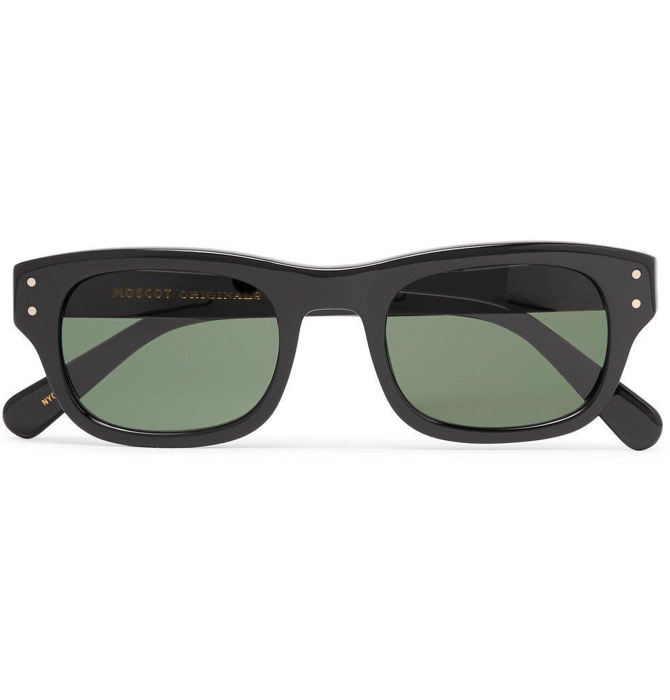 de4174e80d5 Photo  Moscot - Nebb Square-Frame Acetate Sunglasses - Men - Black