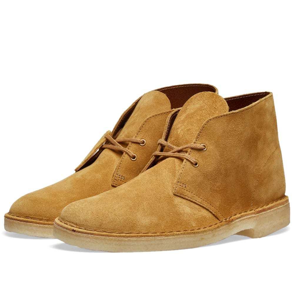 Clarks Originals Desert Boot Oak Suede