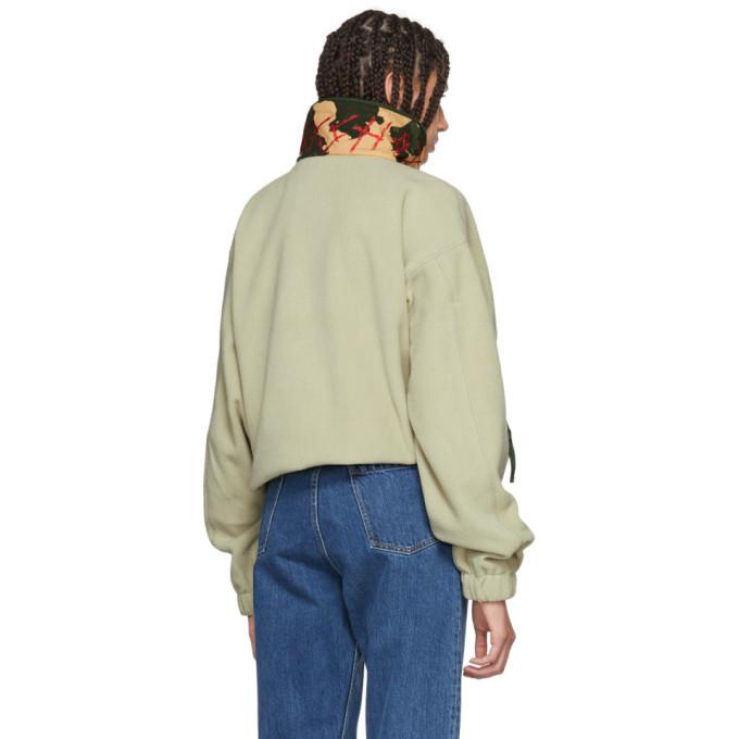 032c Green WWB Fleece Jacket