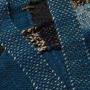 KAPITAL - Patchwork Wool, Hemp and Linen-Blend Cardigan - Blue