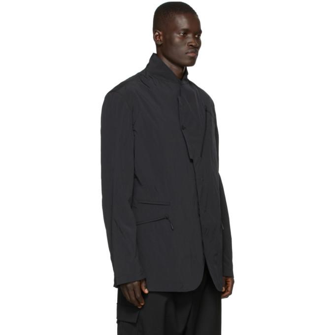 Y-3 Black Classic Nylon Blazer