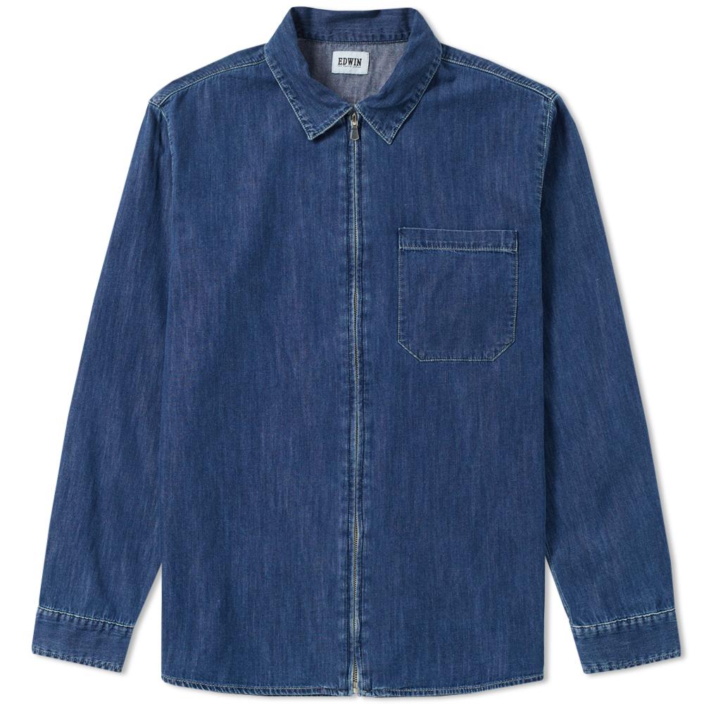 Edwin Demo Zip Shirt Jacket