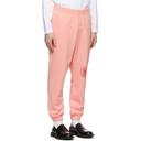Martine Rose Pink Slim Lounge Pants