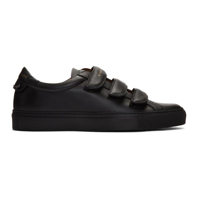 Photo: Givenchy Black Urban Street Straps Sneakers