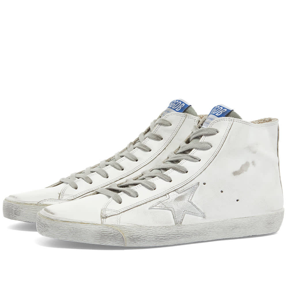 Photo: Golden Goose Francy Leather Suede