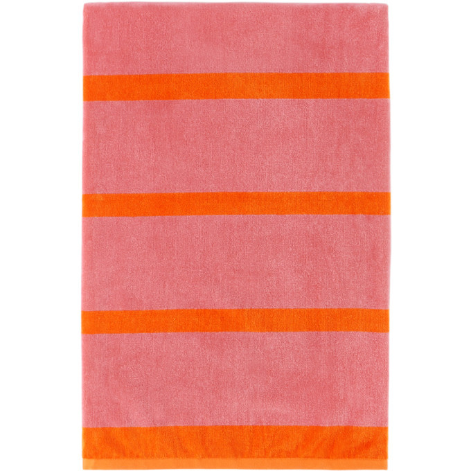Photo: Lateral Objects Pink and Orange Stack Towel