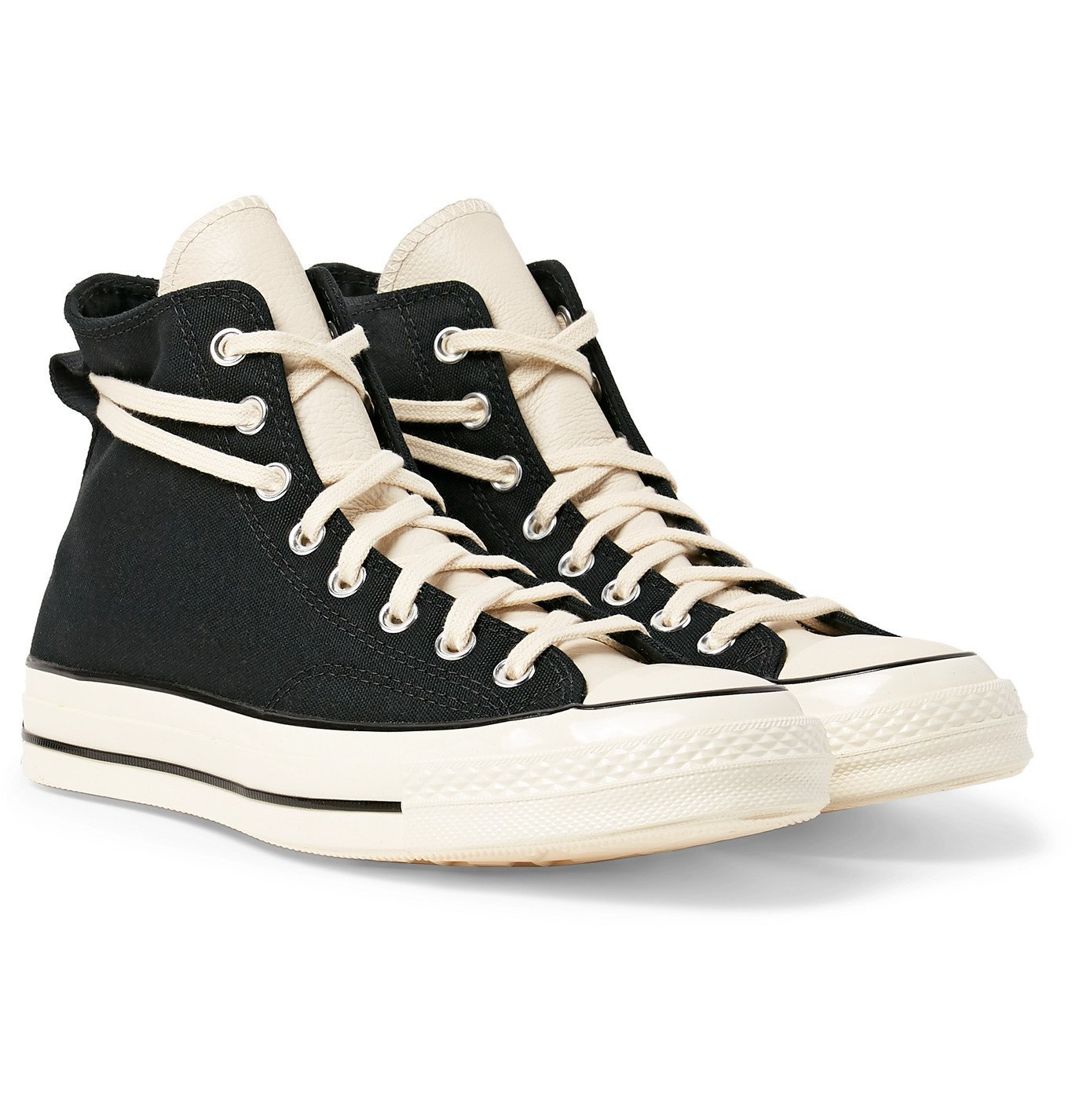 Photo: Converse - Fear of God 1970s Chuck Taylor All Star Canvas High-Top Sneakers - Black