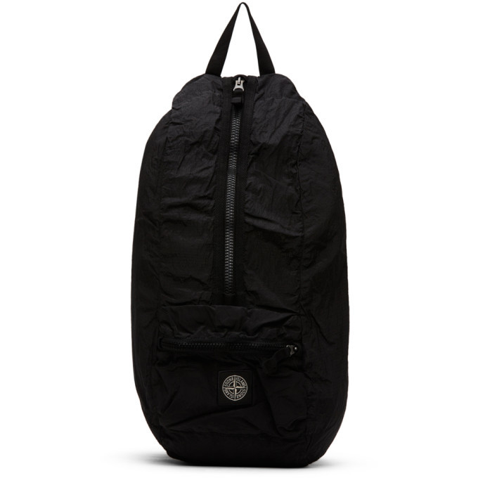 Photo: Stone Island Black Nylon Backpack