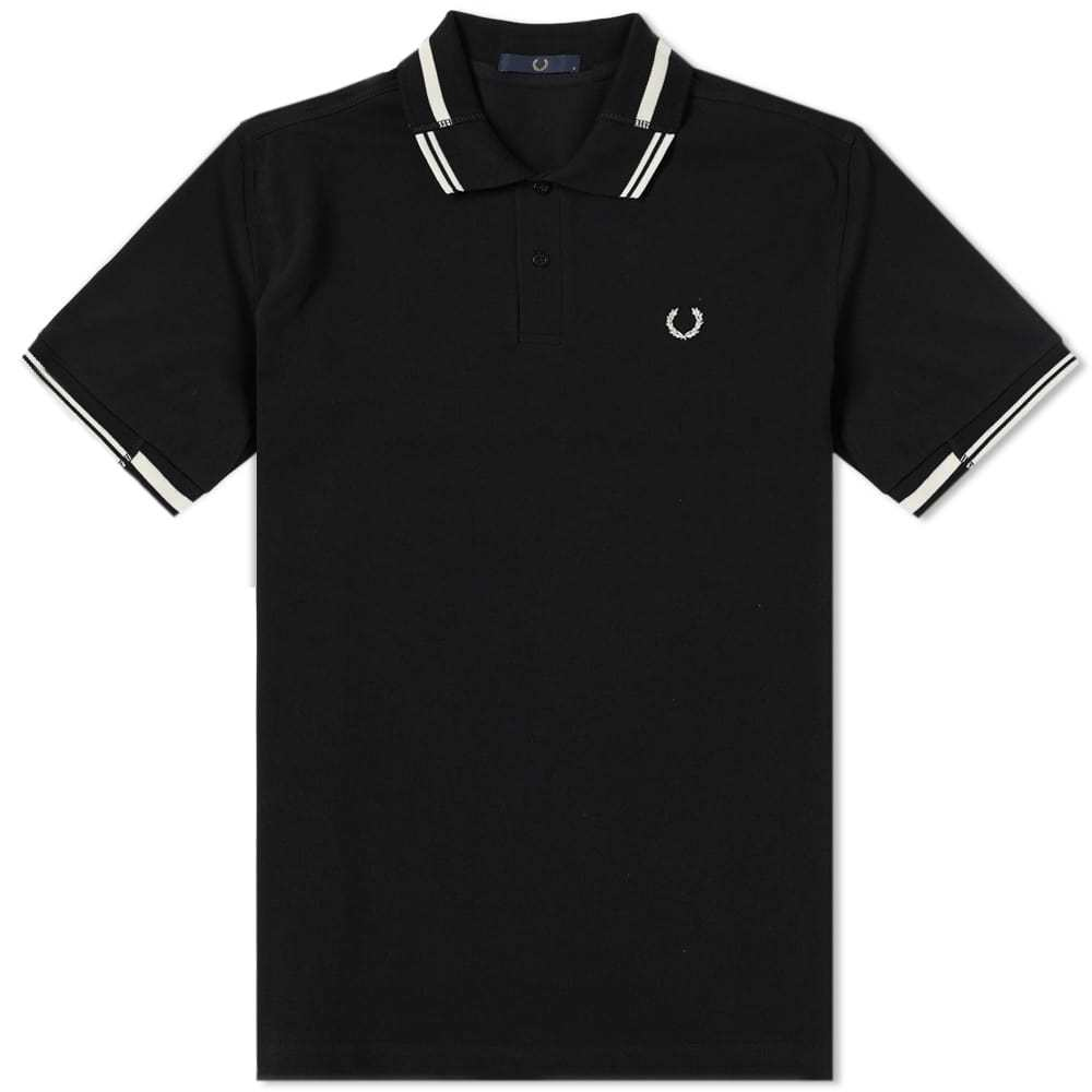 Photo: Fred Perry Split Collar Pique Polo