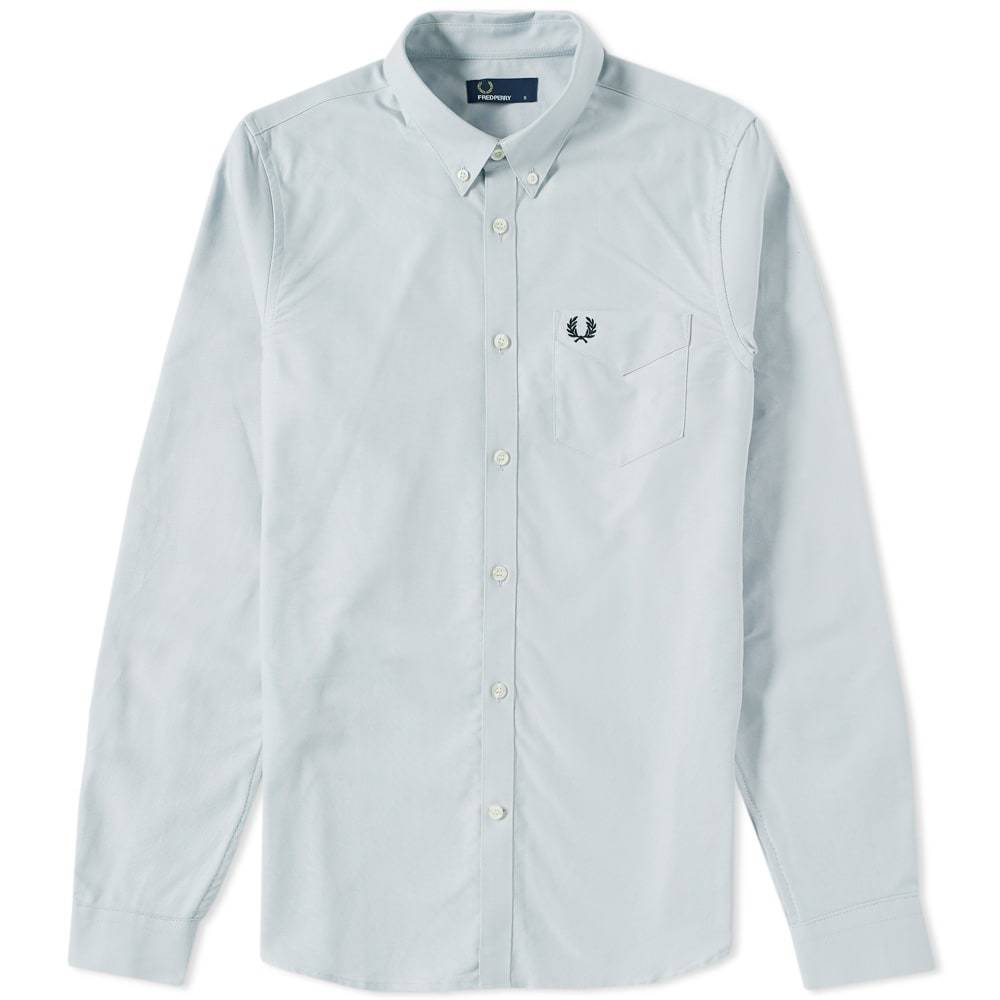 Photo: Fred Perry Classic Oxford Shirt Grey