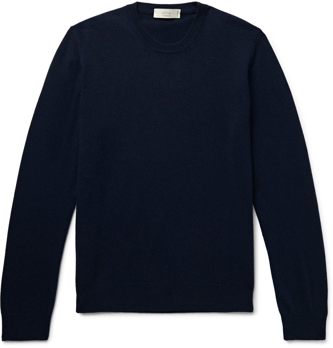 Photo: Altea - Cashmere Sweater - Blue