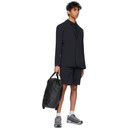 Veilance Black Wool Frame Polo